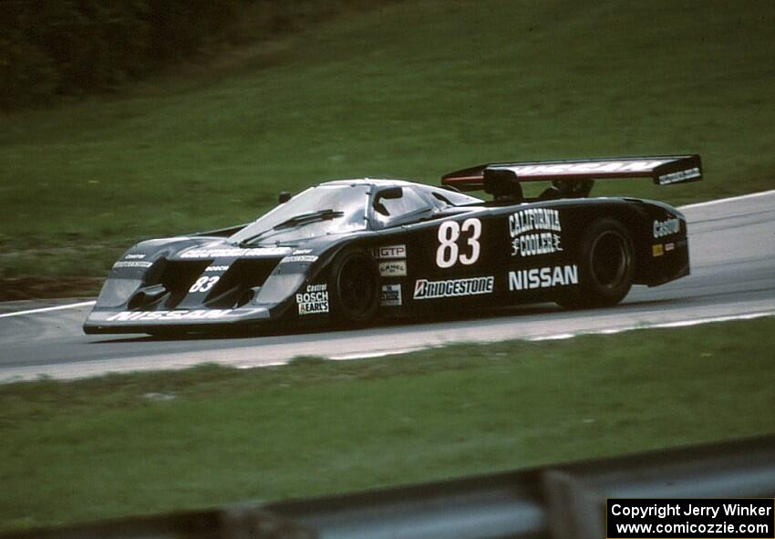 Don Devendorf Tony Adamowicz Lola T810 Nissan Gtp Zx T